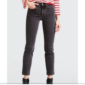 Votre Nom Black Faded Look Woman's Jeans
